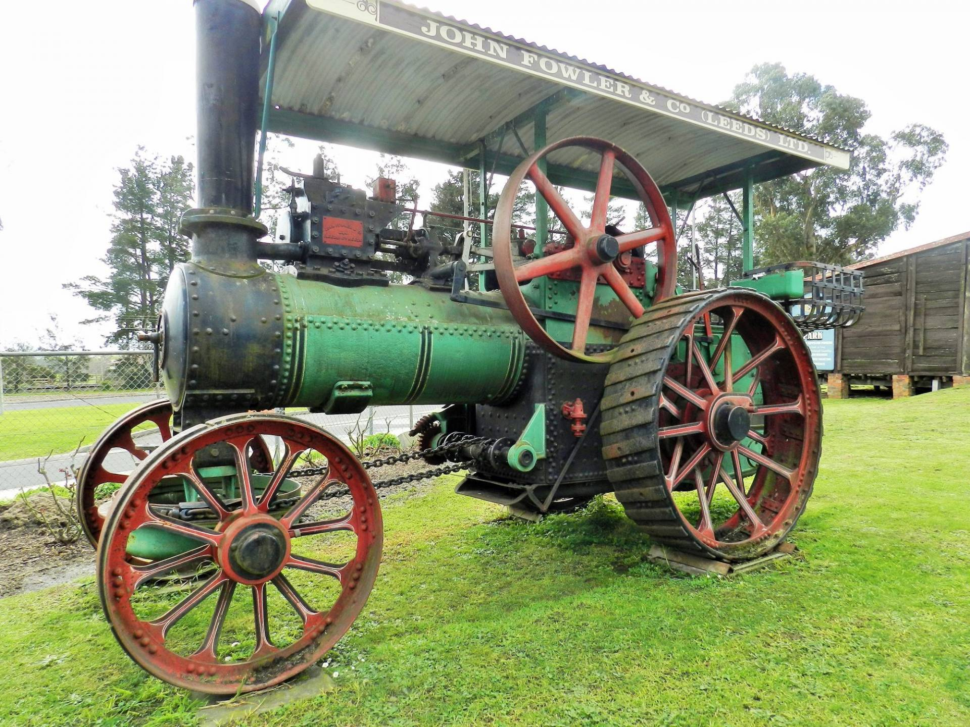This Week's donation was provided by Gavan Little: Steam Traction Engine