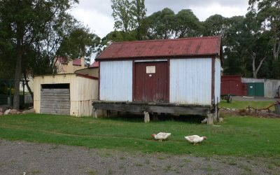 Kilmany Railway Goods & Trolley Shed